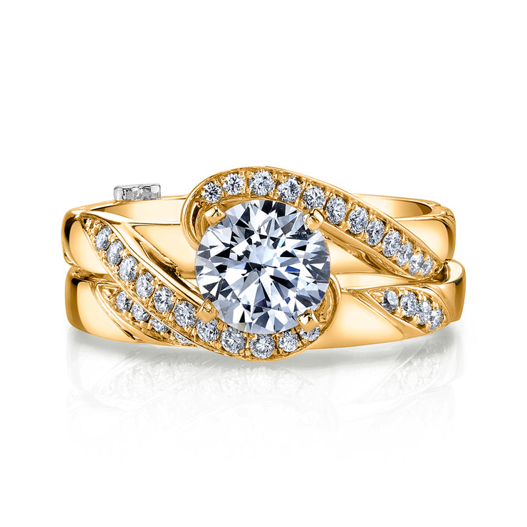 Yellow Gold | Bemused-engagement-ring