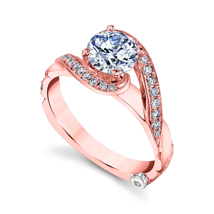 Rose Gold | Bemused-engagement-ring