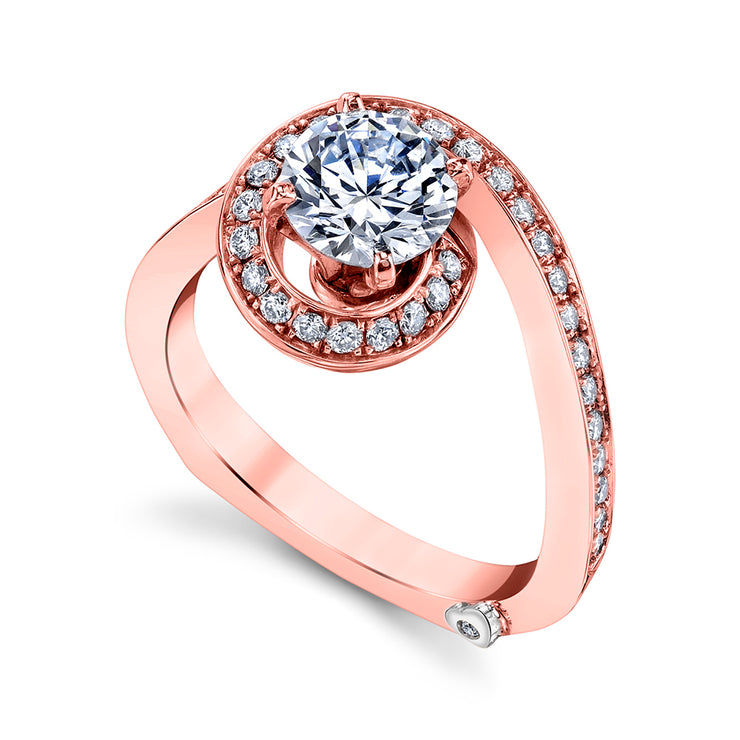 Rose Gold | Bewitch-engagement-ring