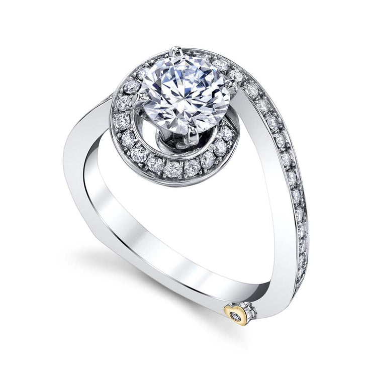 White Gold | Bewitch-engagement-ring