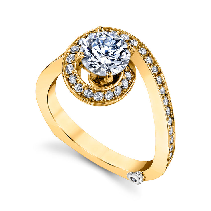 Yellow Gold | Bewitch-engagement-ring