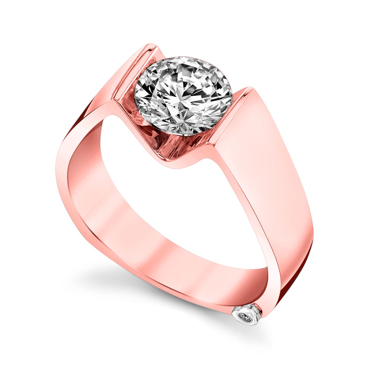 Rose Gold | Blissful-engagement-ring