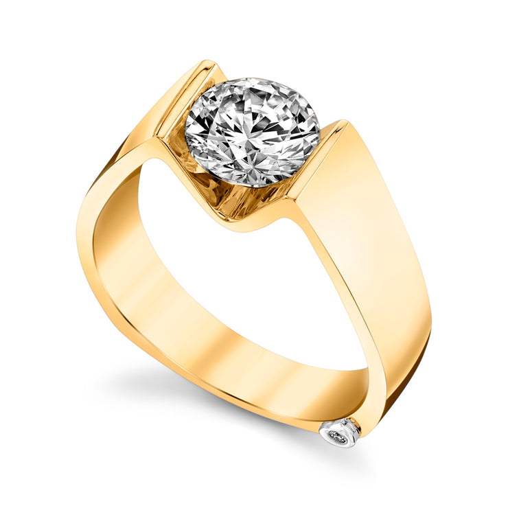 Yellow Gold | Blissful-engagement-ring
