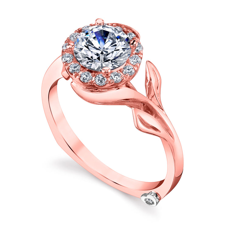 Rose Gold | Bloom-engagement-ring