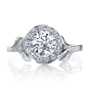 White Gold | Bloom-engagement-ring
