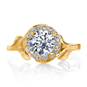 Yellow Gold | Bloom-engagement-ring