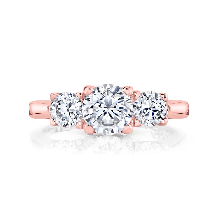 Rose Gold | Blossom engagement ring