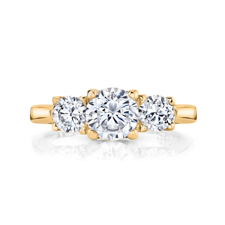 Yellow Gold | Blossom engagement ring