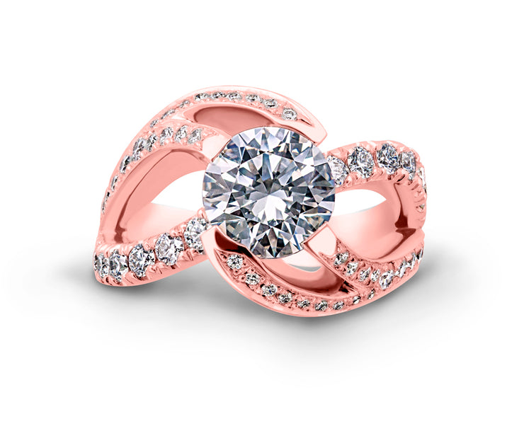 Rose Gold | Breathtaking-engagement-ring