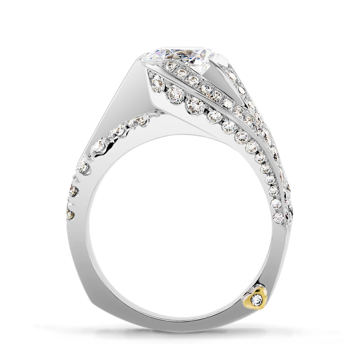 White Gold | Breathtaking-engagement-ring