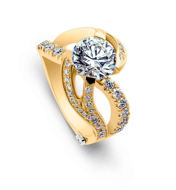 Yellow Gold | Breathtaking-engagement-ring