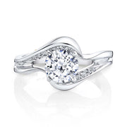 Platinum | Breeze engagement ring