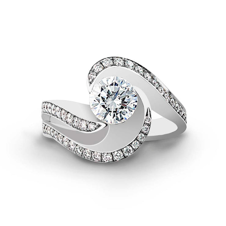 Platinum | Brilliance-engagement-ring