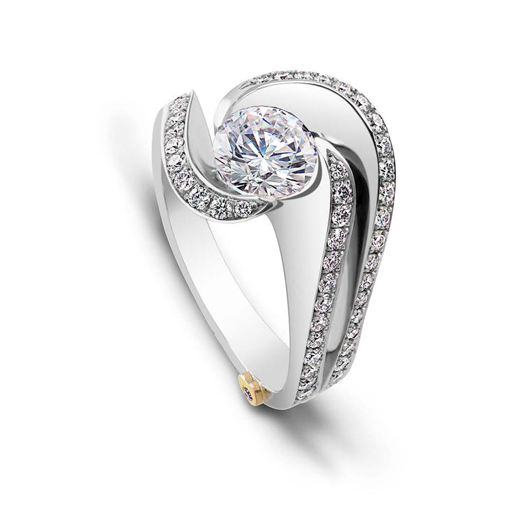 White Gold | Brilliance-engagement-ring