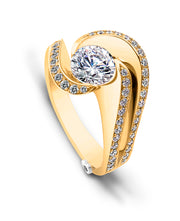 Yellow Gold | Brilliance-engagement-ring
