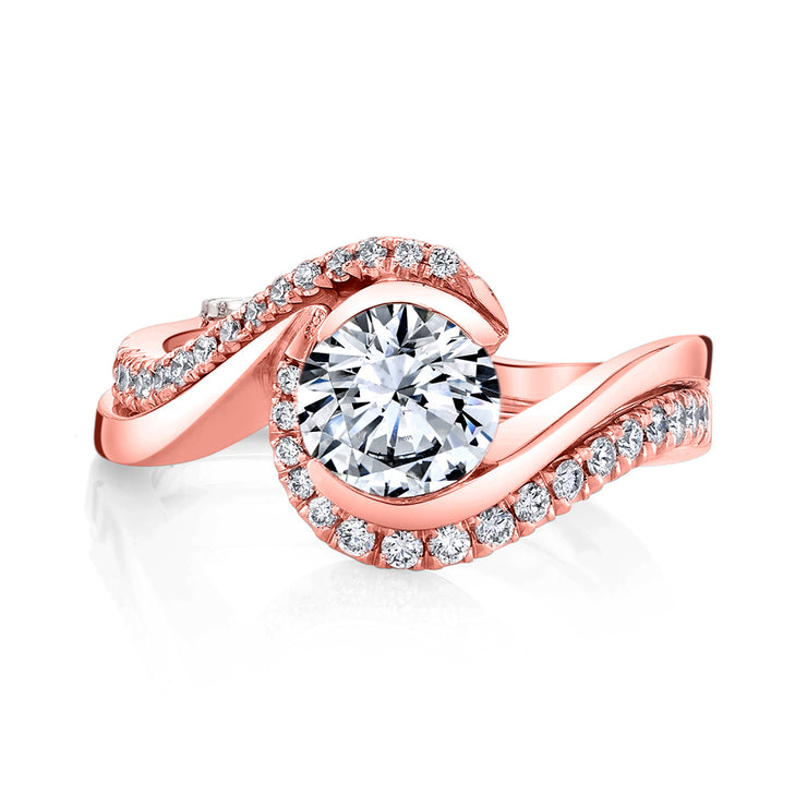 Rose Gold | Captivate-engagement-ring