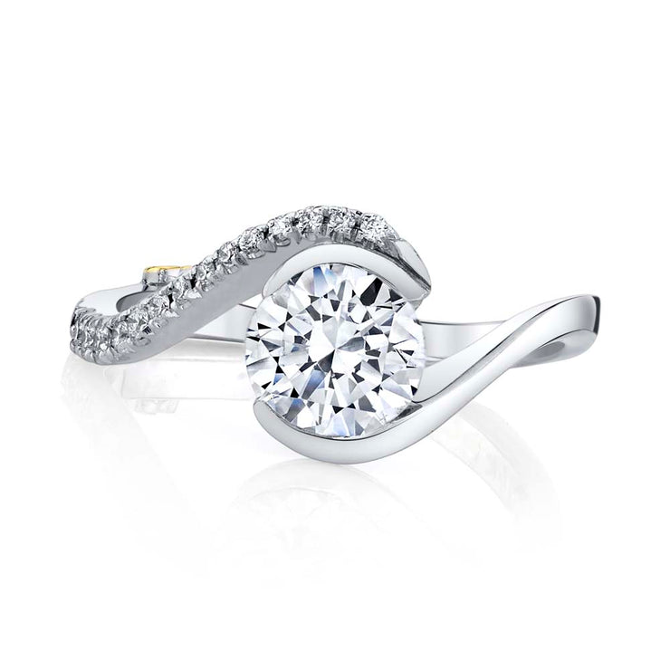 White Gold | Captivate-engagement-ring