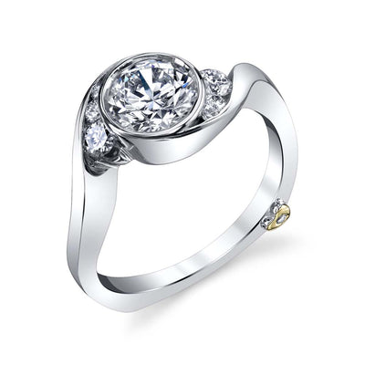 White Gold | Celestial-engagement-ring