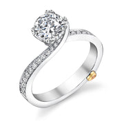 Platinum | Clarity-engagement-ring