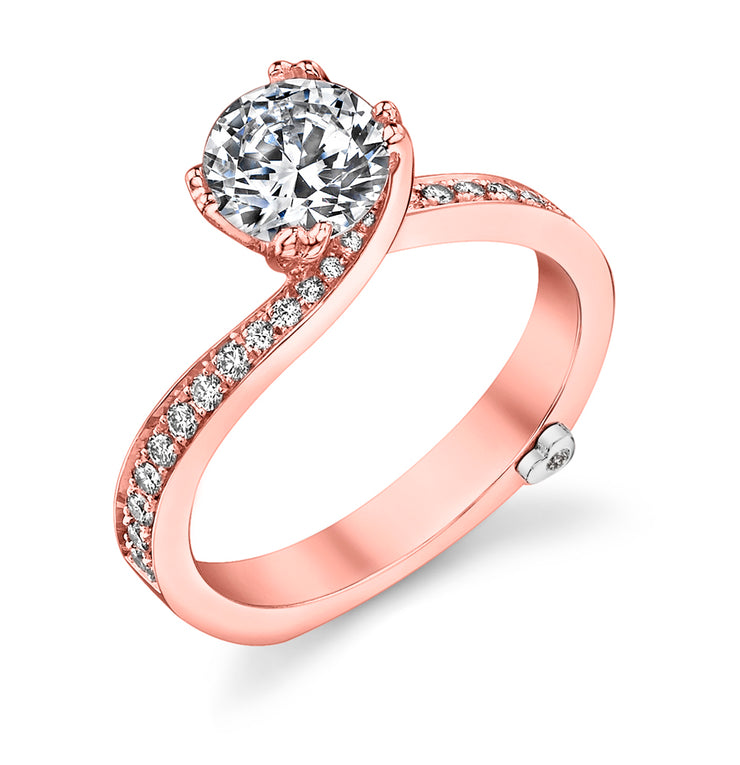 Rose Gold | Clarity-engagement-ring