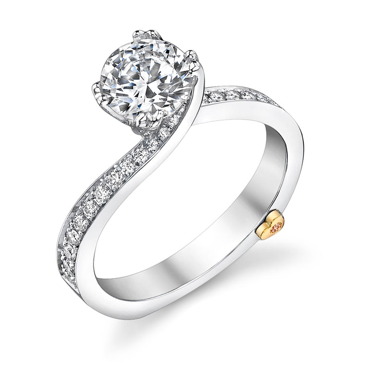White Gold | Clarity-engagement-ring