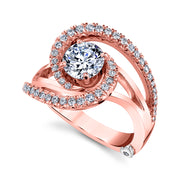 Rose Gold | Constellation-engagement-ring