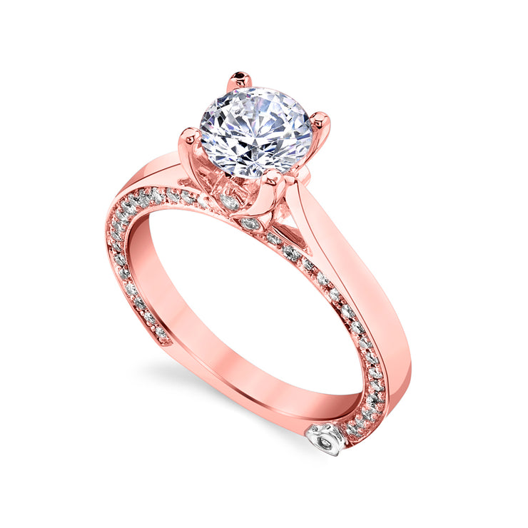 Rose Gold | Crave-engagement-ring