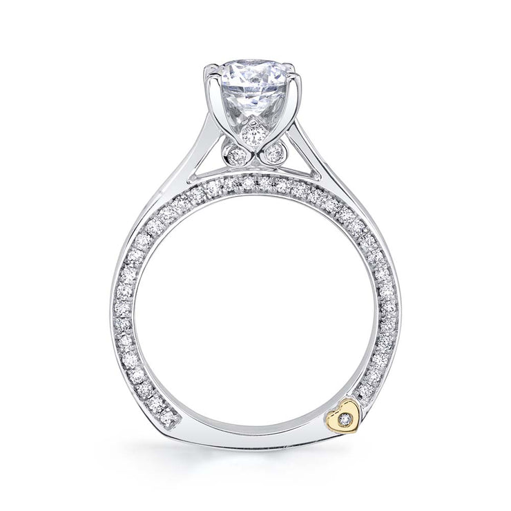 White Gold | Crave-engagement-ring