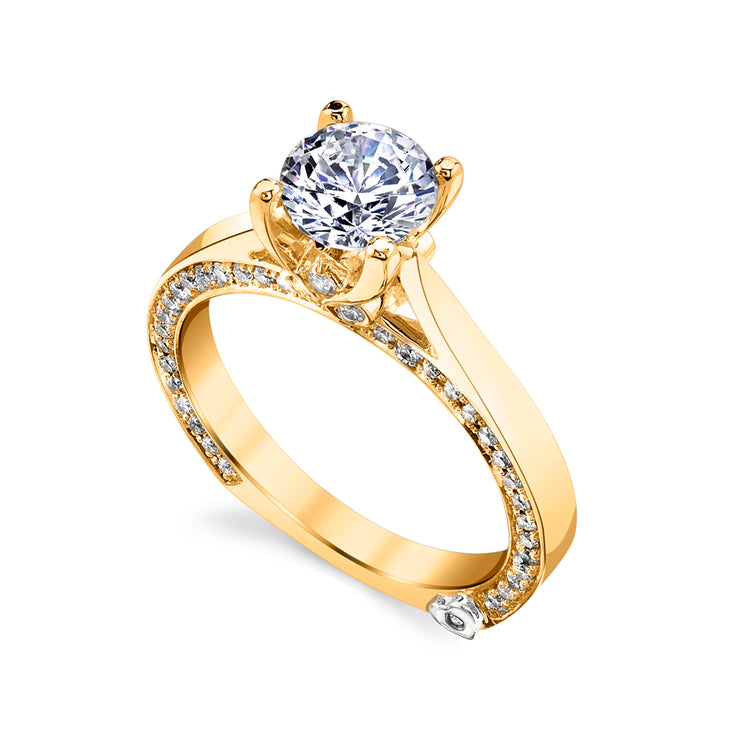 Yellow Gold | Crave-engagement-ring