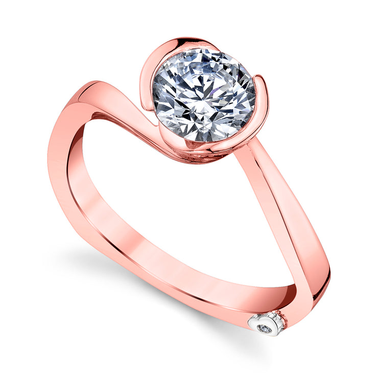 Rose Gold | Crush-engagement-ring