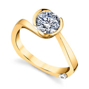 Yellow Gold | Crush-engagement-ring