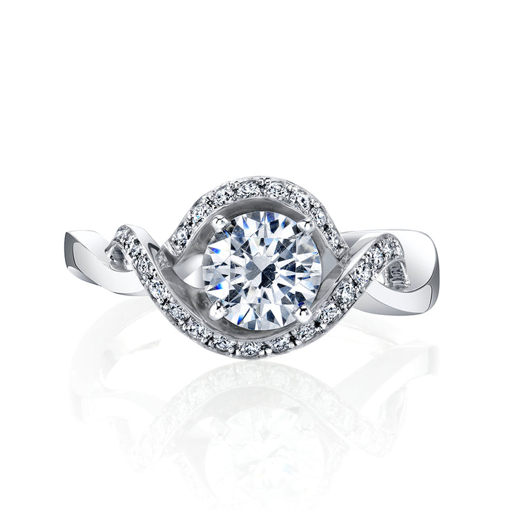 Platinum | Dahlia-engagement-ring