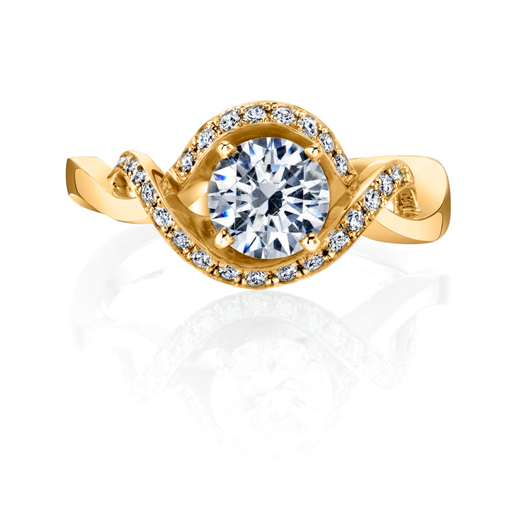 Yellow Gold | Dahlia-engagement-ring