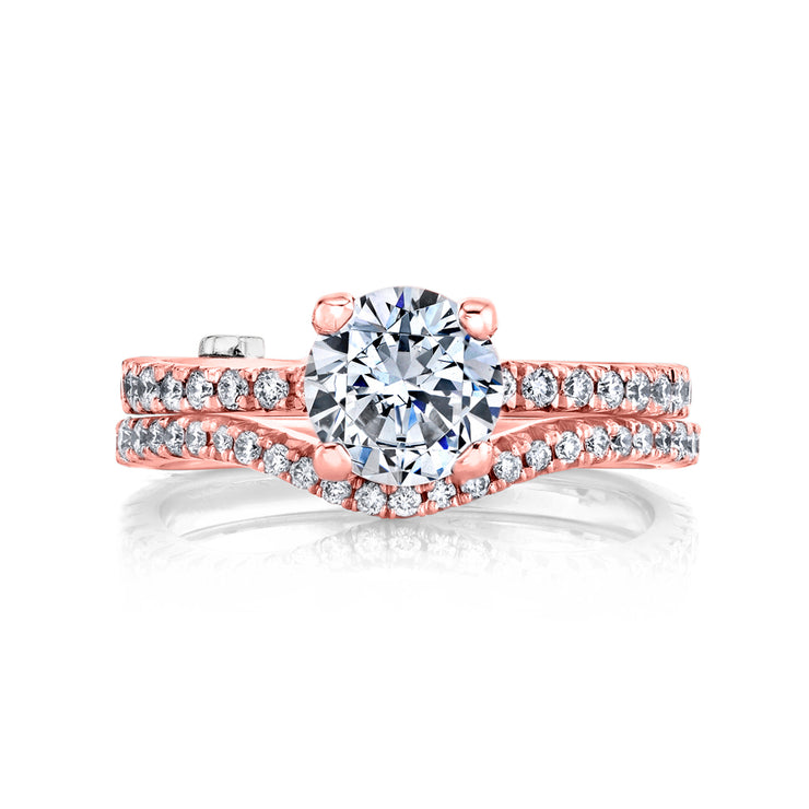 Rose Gold | Dapper-engagement-ring