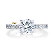 Platinum | Dapper-engagement-ring