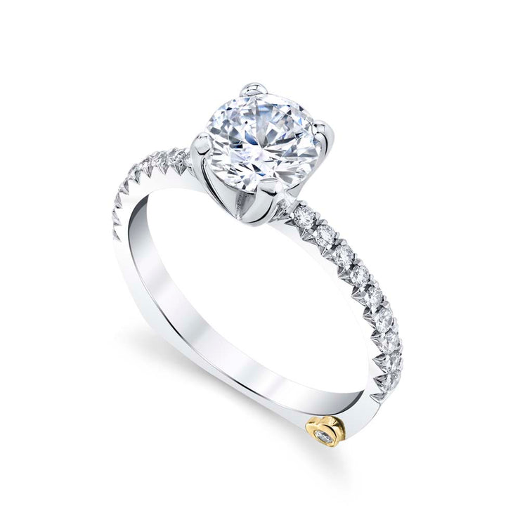 White Gold | Dapper-engagement-ring