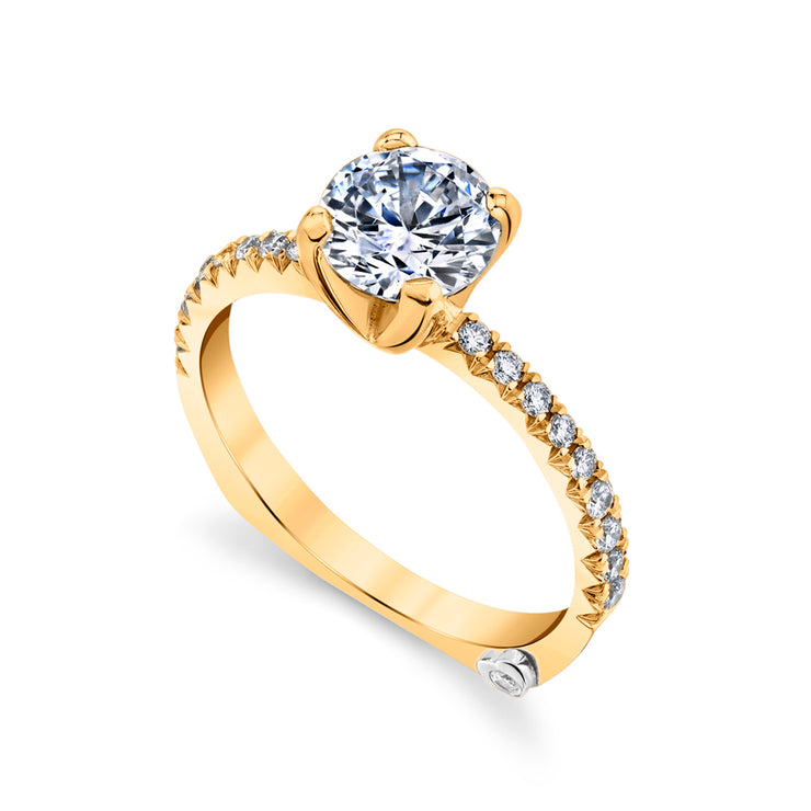 Yellow Gold | Dapper-engagement-ring