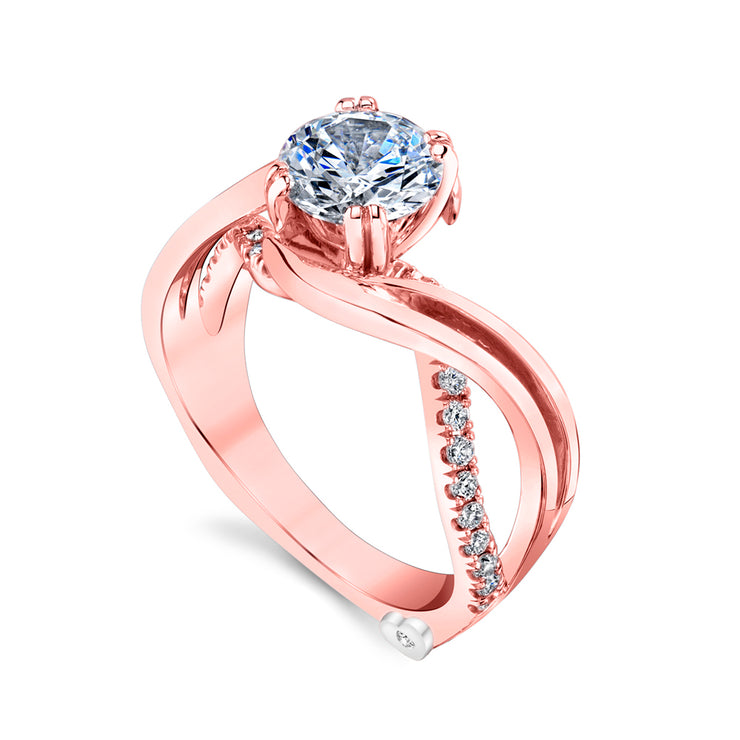 Rose Gold | Enchantment-engagement-ring