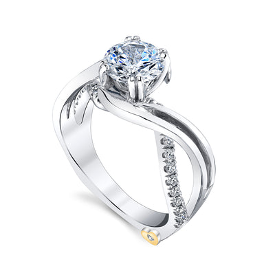 White Gold | Enchantment-engagement-ring