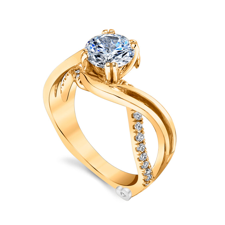 Yellow Gold | Enchantment-engagement-ring