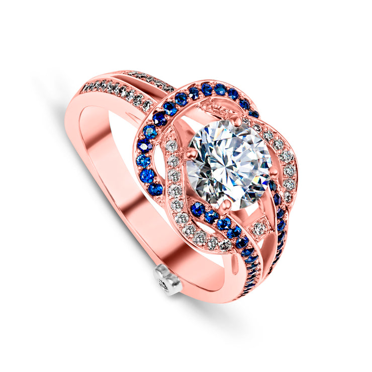 Rose Gold | Entangle-engagement-ring