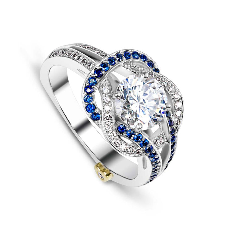Platinum | Entangle-engagement-ring