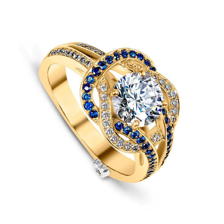 Yellow Gold | Entangle-engagement-ring