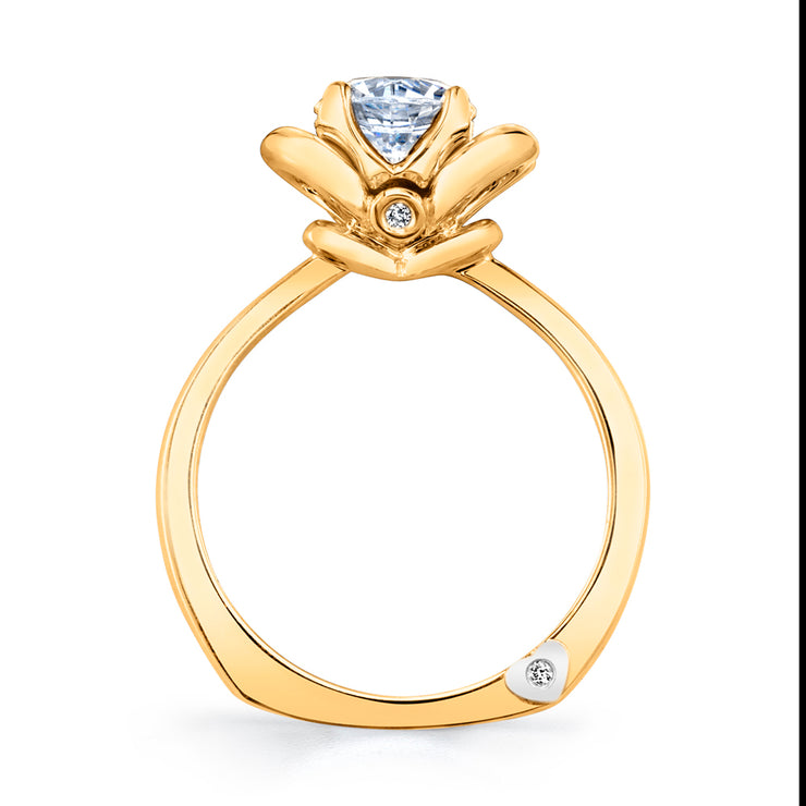 Yellow Gold | Enthrall-engagement-ring