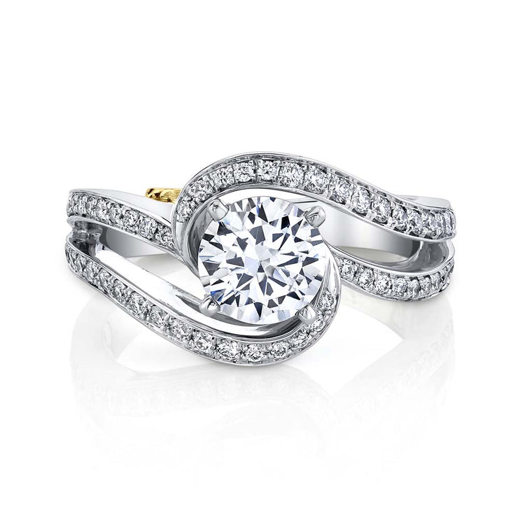 Platinum | Entice engagement ring