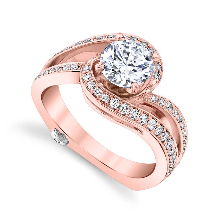 Rose Gold | Entice engagement ring