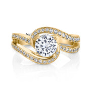 Yellow Gold | Entice engagement ring