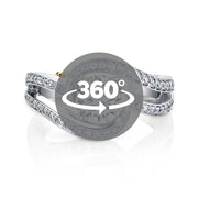 White Gold | Entice engagement ring | https://cdn.shopify.com/s/files/1/0359/2604/8908/files/entice.mp4?v=1600378313