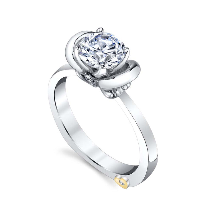 Platinum | Enthrall-engagement-ring