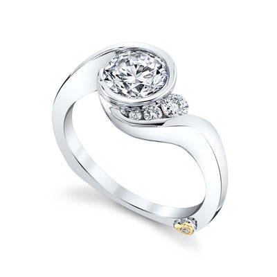White Gold | Escape-engagement-ring
